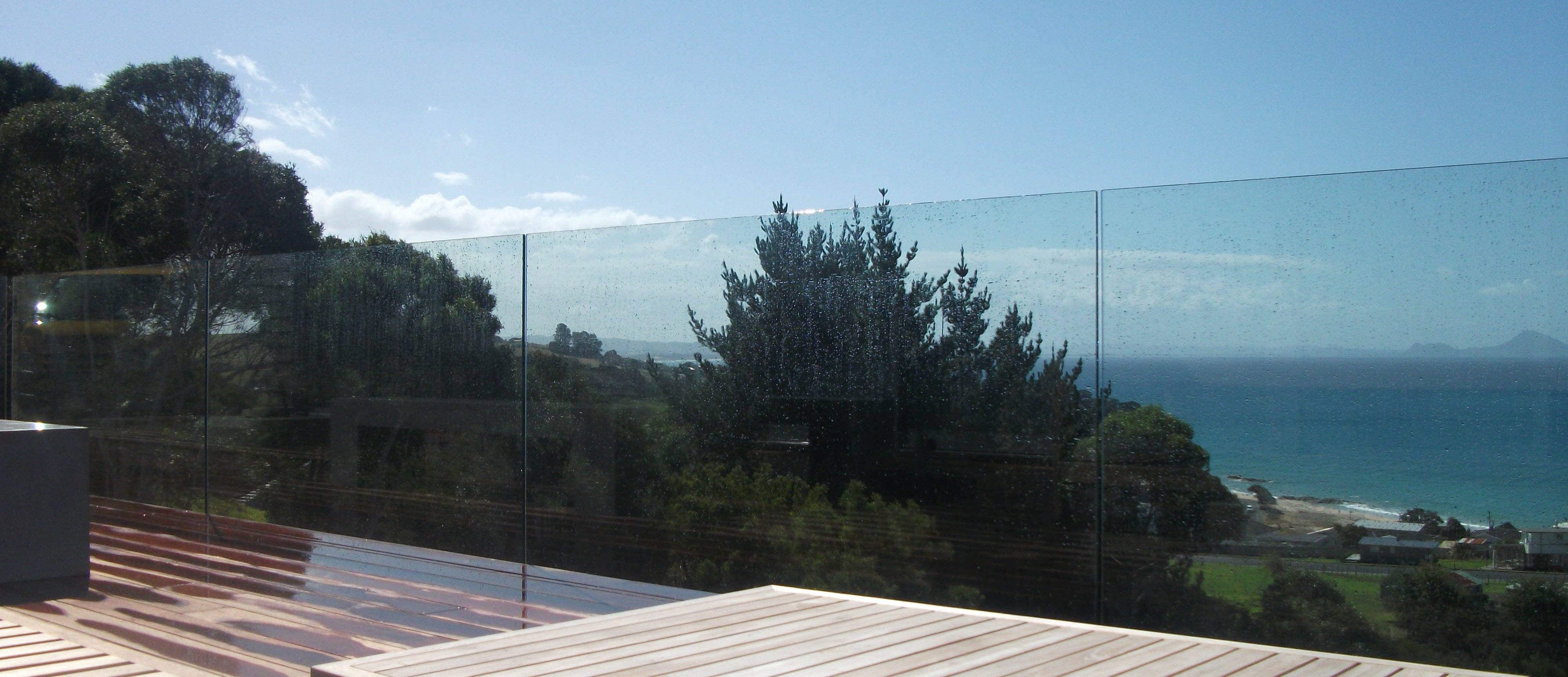 Glass Balustrade on Auckalnd's North Shore