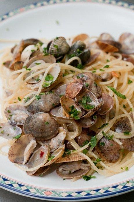 Pasta und Fisch