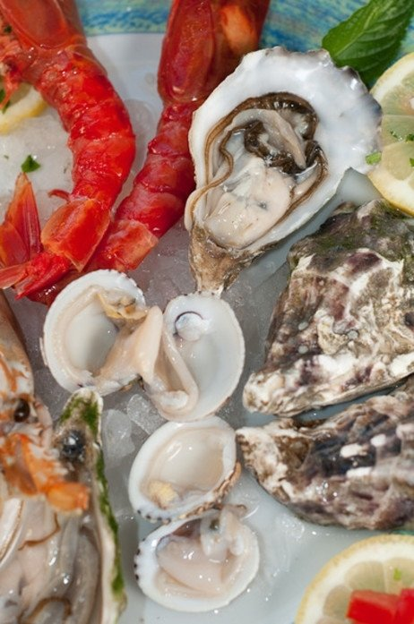 Fischgerichte Porto Cervo
