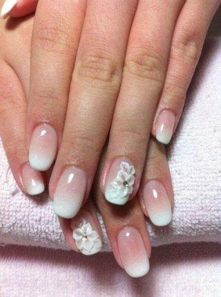 nail art French sfumato