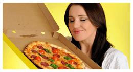 consegna pizza