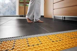 scalda-pavimento elettrico