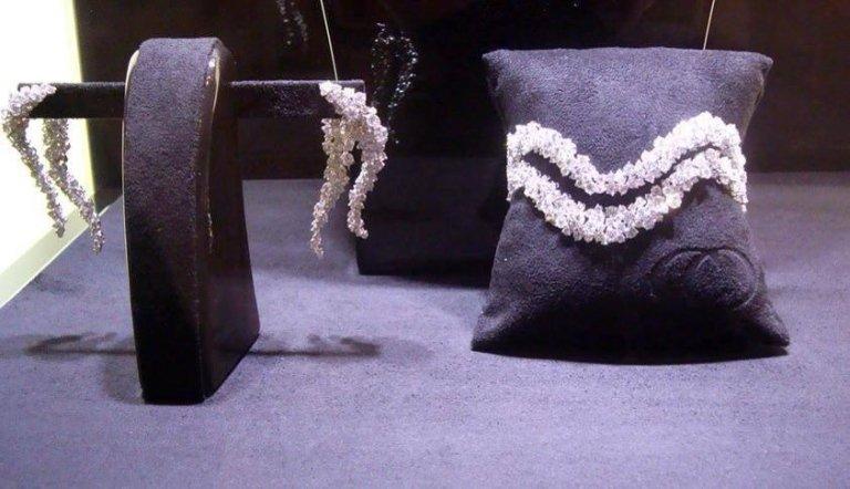 parure di gioielli