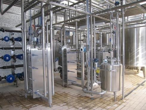 Attrezature lavorazione latte
