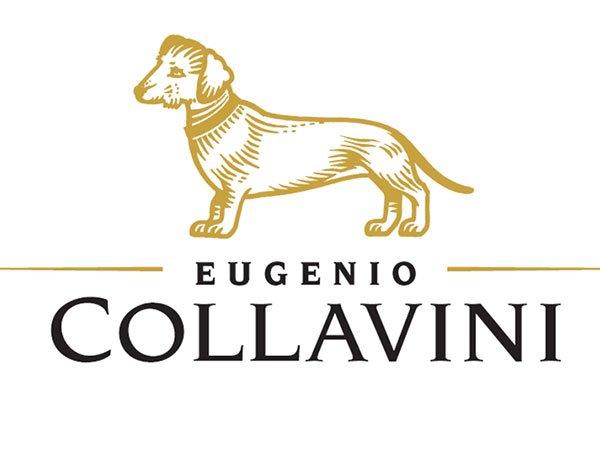 logo Eugenio Collavini con l'immagine di un cane bassotto