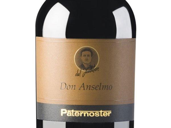 Bottiglia di vino Don Anselmo Paternoster