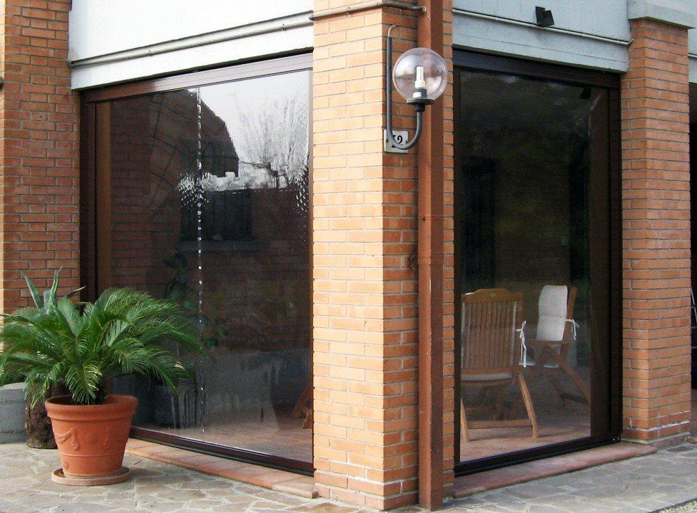 vetrate di una casa
