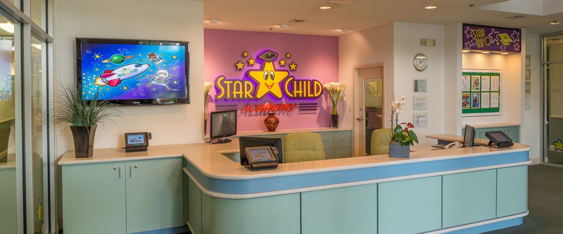 Photo of StarChild Academy's Front Lobby