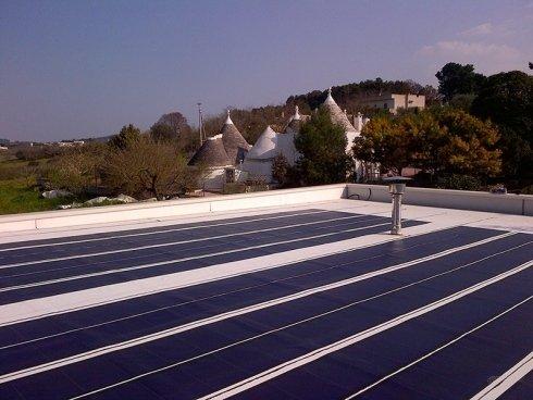 fotovoltaico amorfo integrato