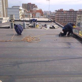 impermealizzare bordi del tetto