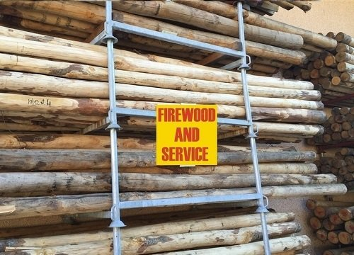 legno per recinzione