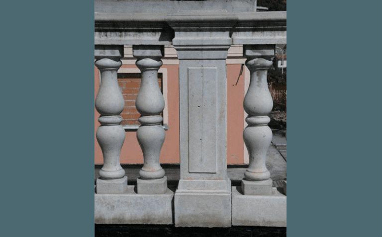 Balaustre in cemento