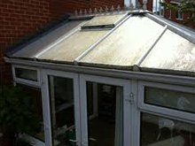 Conservatory roof cleaning - Maidstone, Kent - MB Window Cleaning Services - Domestic Cleaning Before