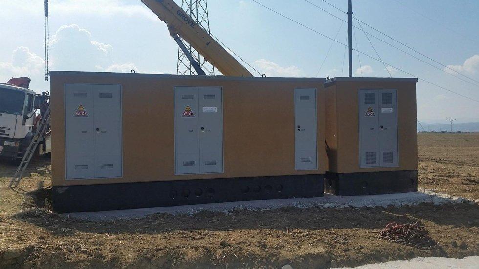 lavorazione cabine elettriche