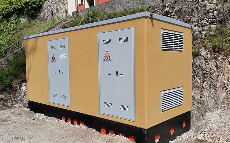 Cabina elettrica Enel