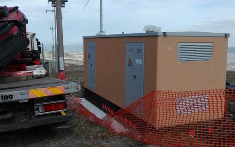 Installazione cabina Enel