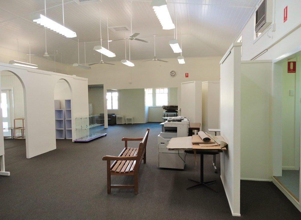 mill gallery interior