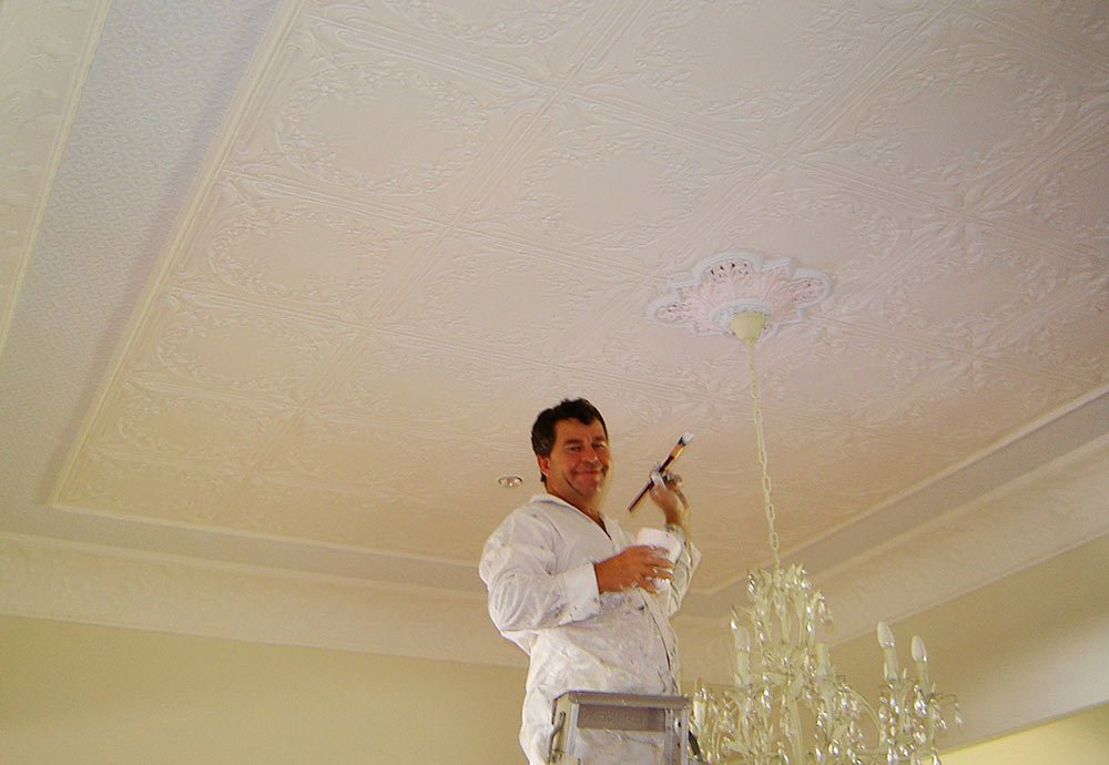 residential painting ceiling