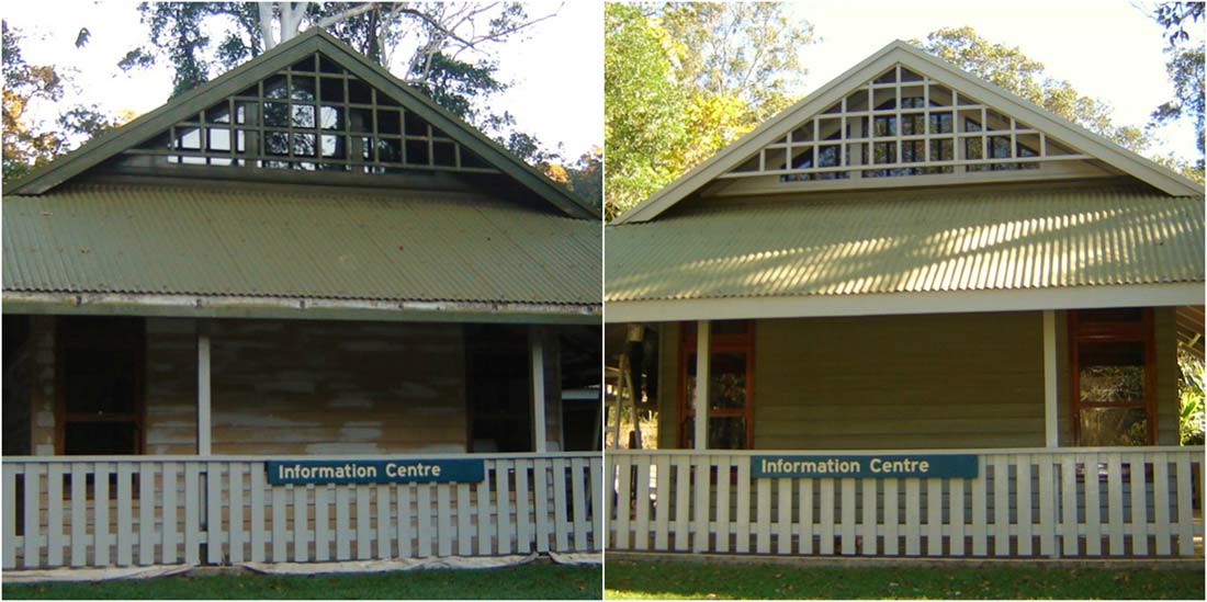 eungella house before and after