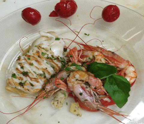 Secondi Piatti A Base Di Pesce E Carne Mantova Ristorante