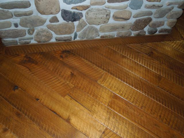 Circular Sawn Storybook Floors Custom Hardwood Flooring
