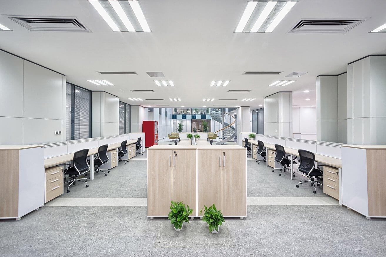 interno di un ufficio pulito