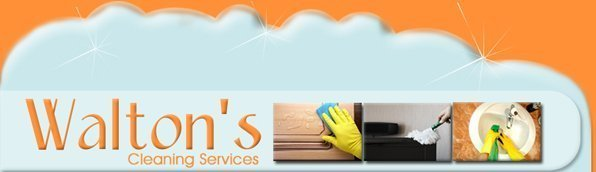 Walton's Cleaning Services logo