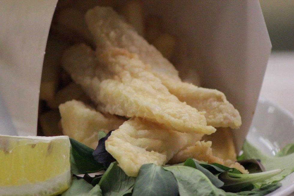 cibo da strada pesce