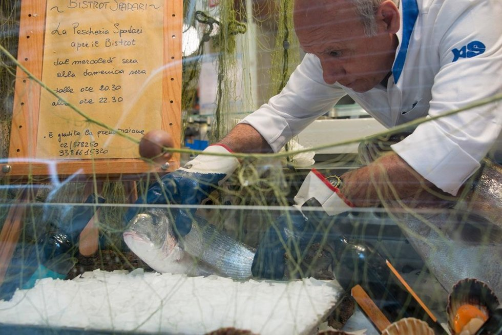 Banco del Pesce Pescheria Spadari
