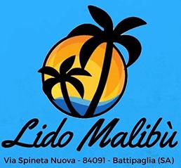 LIDO MALIBU' - STABILIMENTO BALNEARE, BAR, TAVOLA CALDA - LOGO
