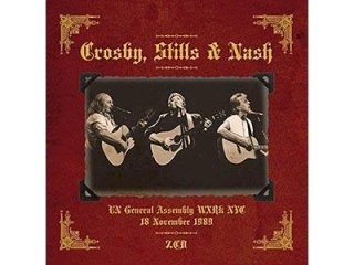 CROSBY STILL & NASH - O.N.U. ASSEMBLY 1989