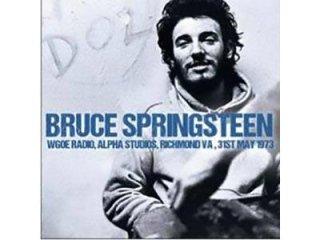 BRUCE SPRINGSTEEN - WGOE RADIO - 1973