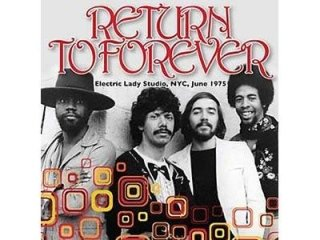 RETURN TO FOREVER - ELECTRIC LADY STUDIO - 1975