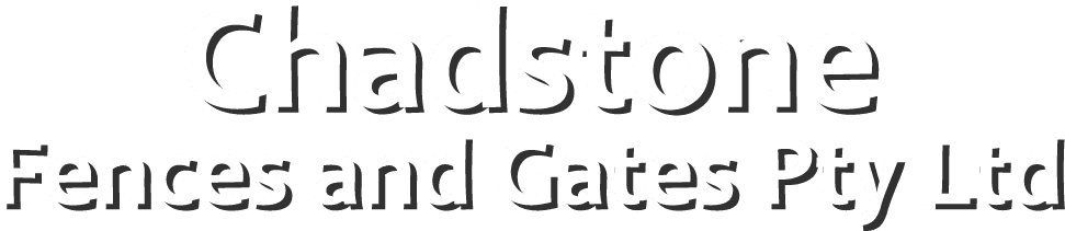 chadstone fences and gates logo