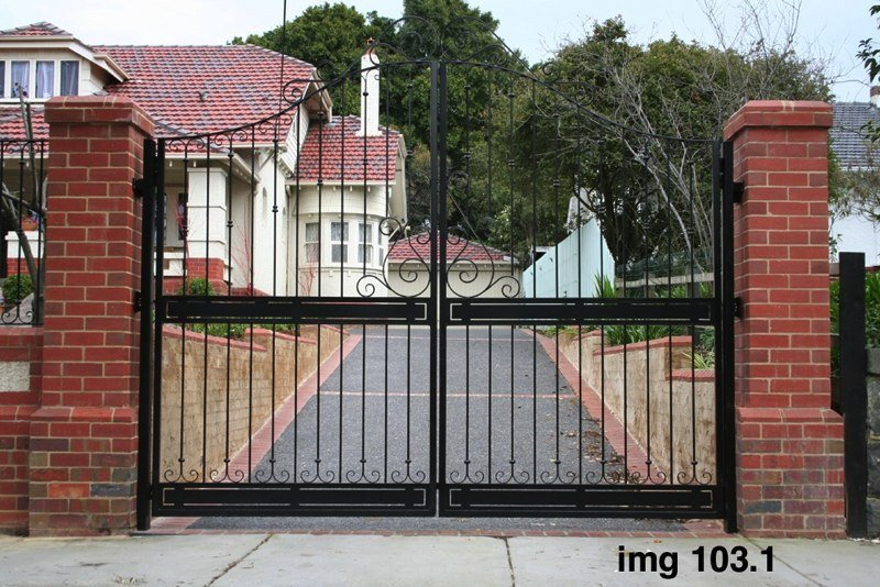 large iron gate