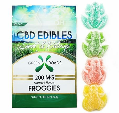 CBD Edibles Froggies 100MG