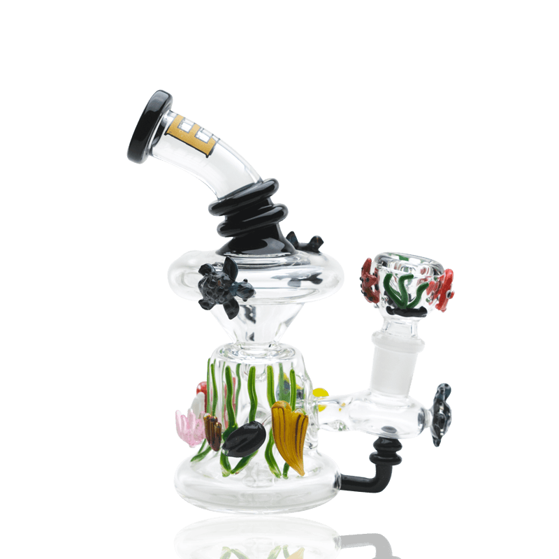 mini rig glass water pipe