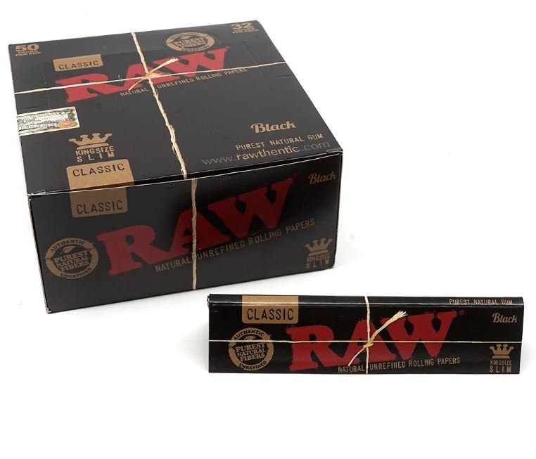 RAW king size slim rolling papers - Buffalo, NY
