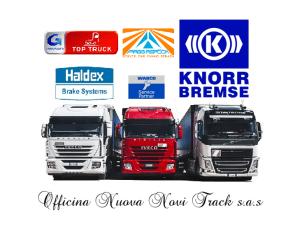 officina top truck autorizzata knorr bremse, wabco, haldex, aspock