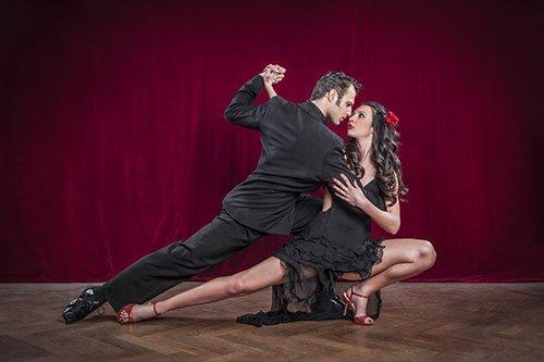 Tango argentino presso scuola di danza Olympia