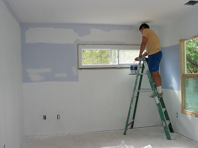 Here S How To Paint Over Ugly Wallpaper