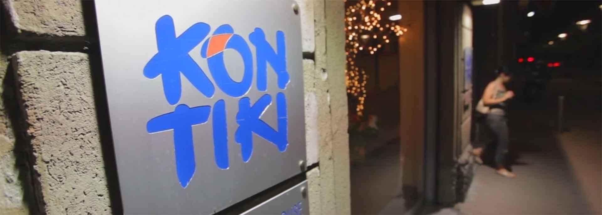 insegna Kon Tiki