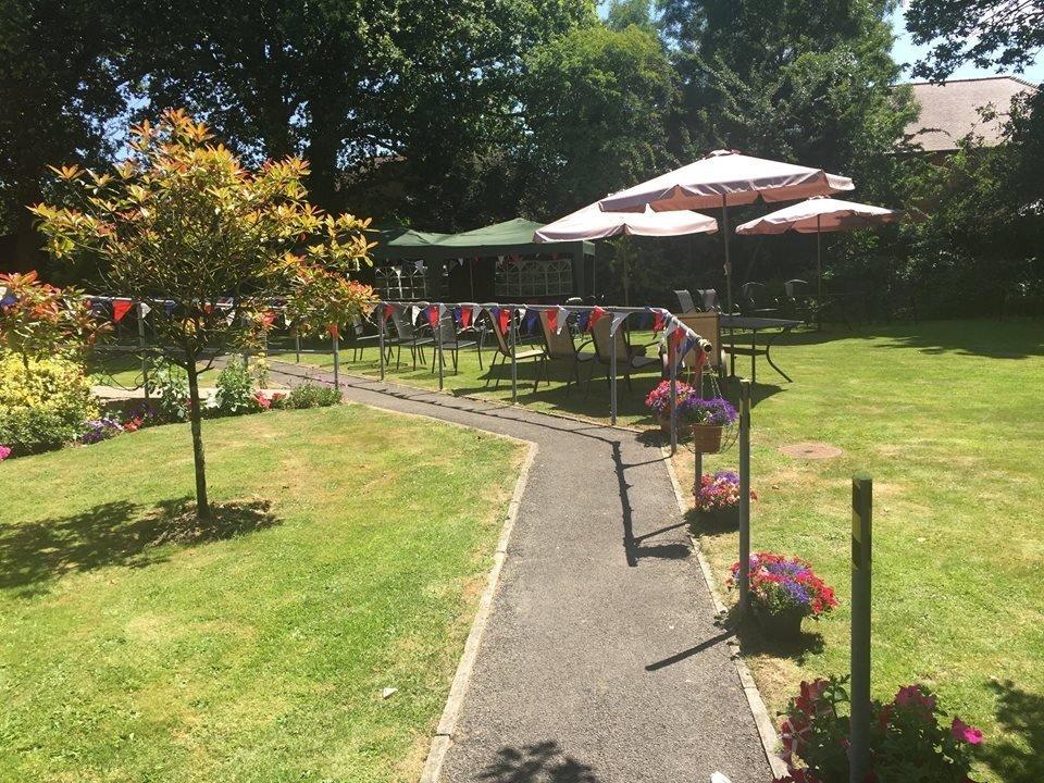 Avon Park Care Home - walking path