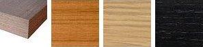 Piani idro laminato con top e bordo dritto