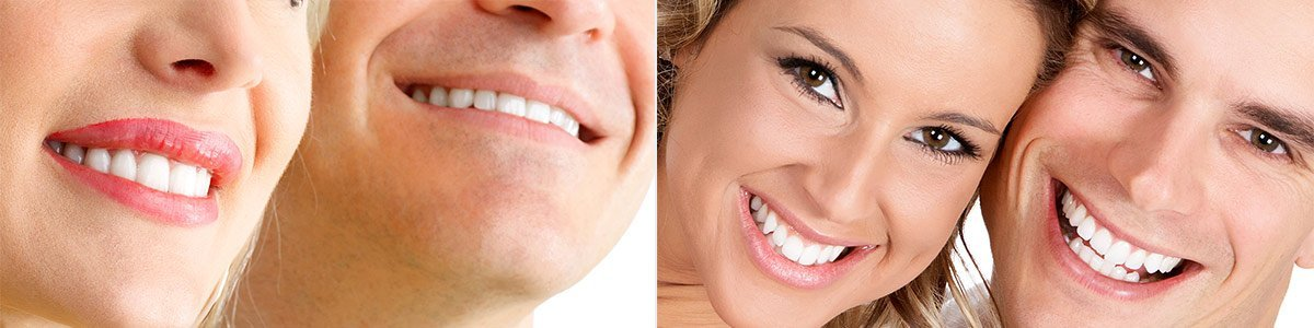 melsore dental smiling face couple
