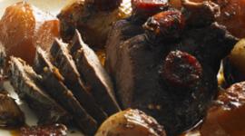 piatto a base di carne