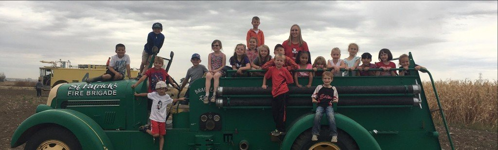 Eaton Elementary Kids Day at the Farm