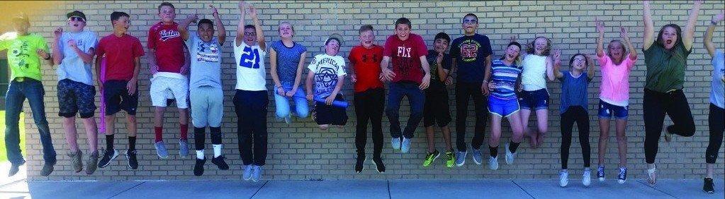Eaton School Students Celebrate