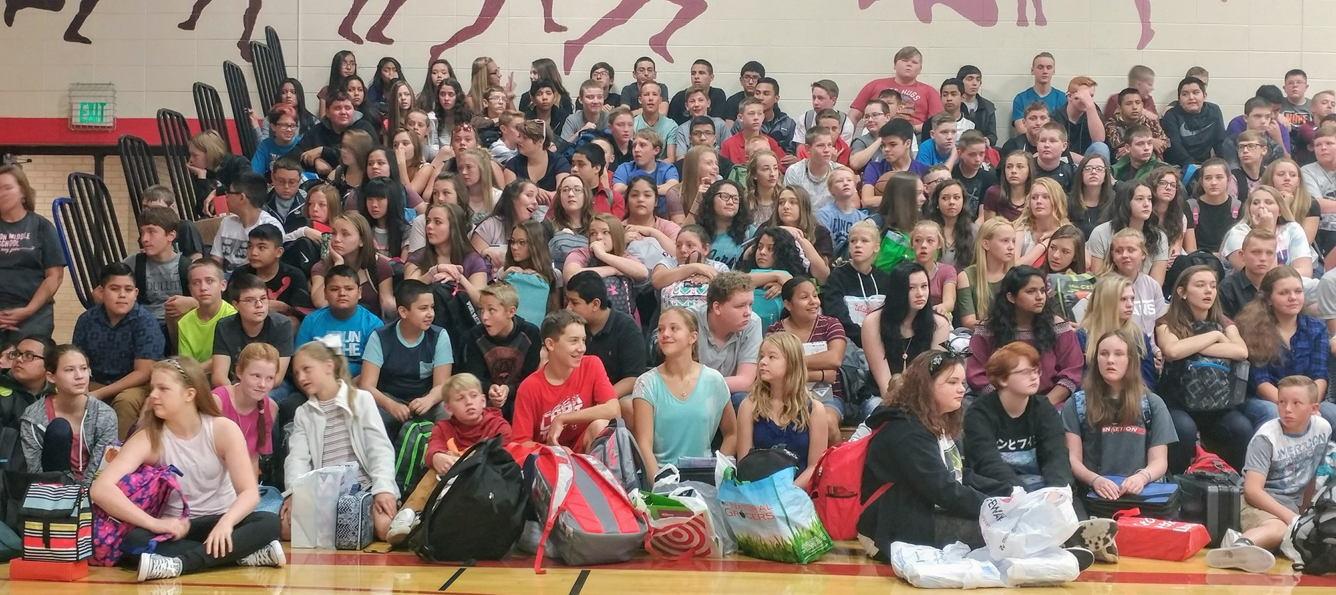 EMS First day assembly