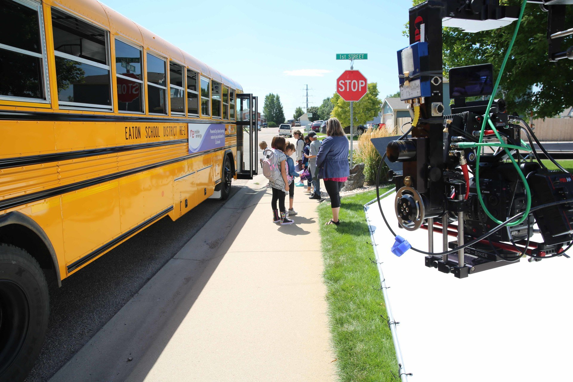 Eaton School District Families star in Noble Energy Commercial